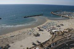 Seashore em Telavive Fotografia de Stock Royalty Free