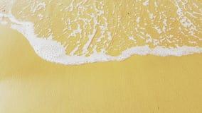 Seashore. At golden beach Stock Photo