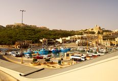 Seashore of the Gozo Island Royalty Free Stock Photo
