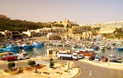 Seashore of the Gozo Island Stock Photography