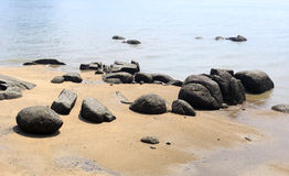 Seashore in gulangyu island Stock Image