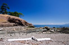 Seashore, Gulf Islands National Park Reserve Stock Images