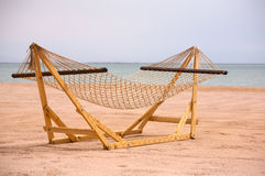 Seashore hammock Stock Images