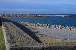 Seashore in Helsingor, Denmark Stock Photos