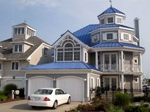 Seashore Home Stock Images