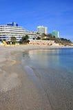 Seashore hotels Royalty Free Stock Images
