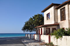 Seashore House. House at the beach in the Caribbean Royalty Free Stock Photography