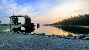 Seashore House royalty free stock photography