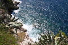 Seashore i Kroatien Arkivfoton