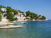 Seashore i Kroatien Royaltyfri Fotografi