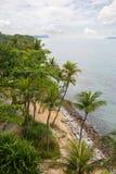 Seashore on the island of Sentosa in Singapore Stock Photos