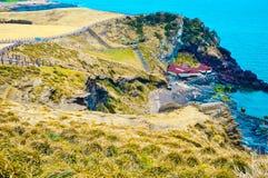 Seashore, Jeju wyspa, Korea zdjęcie stock