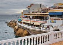 Seashore in La Caletta town. Tenerife. Canary Islands. Spain Stock Image