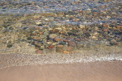 Seashore - Lake Huron Stock Photo