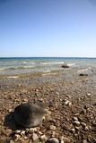 Seashore - Lake Huron Stock Photography