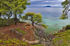 Seashore landscape Royalty Free Stock Photography