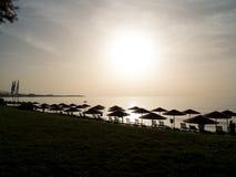 Seashore landscape of Rhodes island, Greece Royalty Free Stock Photos