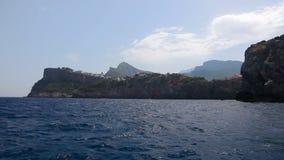 Seashore of Mallorca Island, Balearic Islands, Spain stock video footage