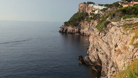 Seashore of Mallorca Island, Balearic Islands, Spain stock video
