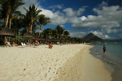 seashore mauritius Obrazy Stock