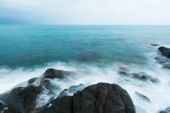 Seashore  in morning Stock Image