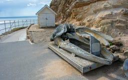 Seashore nacional de Reyes do ponto em Califórnia Imagens de Stock