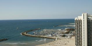 Seashore no formato de Tel-Aviv.Horisontal Foto de Stock