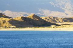 Seashore of Oman, Mirbat landscape Royalty Free Stock Image