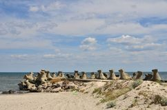 Seashore, pachwina, niebo, cloudscape zdjęcia royalty free