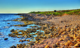 Seashore in Paphos Stock Images