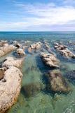 Seashore in patagonia. Stock Photos
