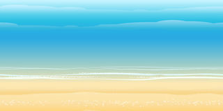 Seashore Pattern Royalty Free Stock Images