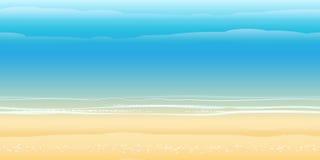 Seashore Pattern Royalty Free Stock Images