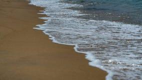 Seashore piaska morza plaży widok zdjęcia royalty free