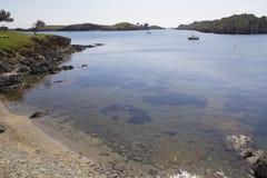 Seashore in Portlligat, Catalonia, Spain Royalty Free Stock Photography