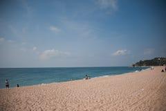 Seashore przed sezonem wakacyjnym Fotografia Royalty Free