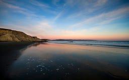 Seashore Reyes пункта пляжа селезней Стоковое Изображение
