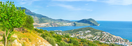The seashore of riviera Royalty Free Stock Photography