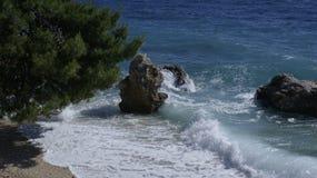 Seashore rochoso Imagens de Stock Royalty Free