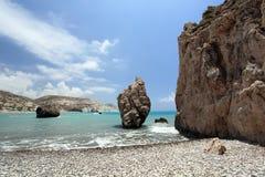 Seashore and rocks Stock Photography