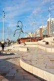 seashore scheveningen пляжа новый Стоковые Фотографии RF