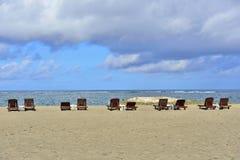 Seashore in Seminyak, Bali Royalty Free Stock Photo