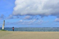 Seashore in Seminyak, Bali Stock Images