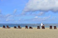 Seashore in Seminyak, Bali Stock Photos