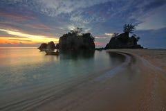 Seashore during Sunrise Photo Stock Photography