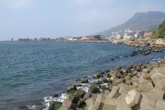 Seashore in Tai Wan Royalty Free Stock Images