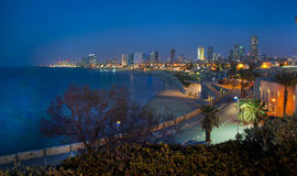 Seashore Tel Aviv zdjęcia royalty free