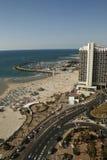 Seashore in Tel-Aviv.Israel royalty free stock image
