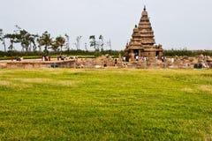 Seashore Temple. At Mahabalipuram, India Stock Photos