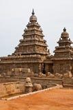 Seashore Temple. Old seashore temple at Mahabalipuram, India Royalty Free Stock Image